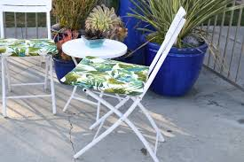 diy outdoor furniture cushions. Modren Diy How To Sew Outdoor Chair Cushions In 30 Minutes Or Less In Diy Furniture