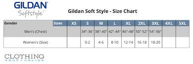 Gildan T Shirts Size Chart For Youth Gildan Brand T Shirts Size Chart Coolmine Community School