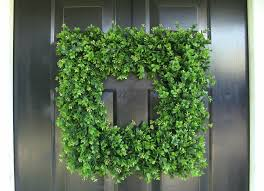 I Create Your Best Design For Accessories Christmas Holiday With Beautiful  Boxwood Wreath Surprising Outdoor Decorating