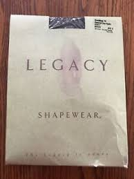 Legacy Legwear Size Chart Details About Legacy Shapewear Size D Brown Coolmax Control Top Tight A08477 Qvc Hose
