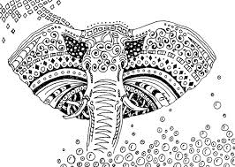 Small Picture Adult coloring page africa Elephant 8