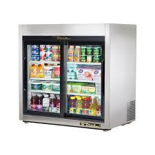 tsd 09g ld true countertop refrigerated merchandiser 2 glass sliding doors