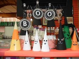 Paper Mache Decorating Halloween Paper Mache Cone Decorations Porters Craft Frame