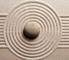 Black and white area rug, sand, zen HD ...