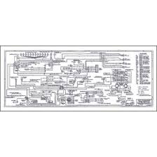 ford ford thunderbird wiring diagram large x foldout ford thunderbird wiring diagram large 34 x 14 foldout 1957