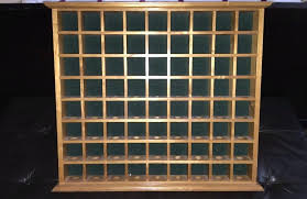 golf ball display case wood oak hole golf ball display case golf ball display case with