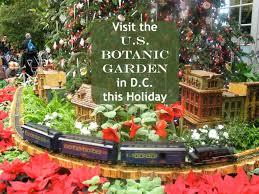 us botanic garden washington dc holiday train display