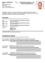 Formato Curriculum Vitae Basico Word Magdalene Project Org