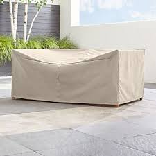 Rattan garden furniture cover Round Barra Sofa Cover Smak Outdoor Patio Furniture Covers Crate And Barrel