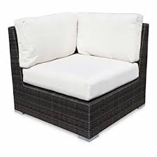 Source outdoor furniture Tropez Wicker Image Unavailable Patio Lane Amazoncom Source Outdoor Lucaya Corner Lounge Chair Standard