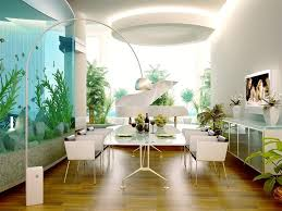 modern home office design displaying. Home Design: Decoration Fantastic Large Wall Aquarium Mixed With White Mounted In How To Decorate Modern Office Design Displaying .