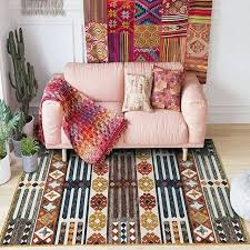 kilim style area rugs retro living room rug big size pattern printed carpet vintage home decoration vintage style kilim rugs