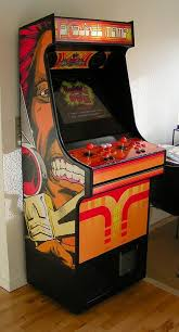 rasmus koenig sorensen s project mame arcade cabinet with thundercat s side art
