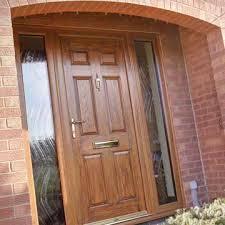 brown front dooruPVC Entrance Doors  Albany Windows  Double Glazing Installers