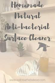 antibacterial surface cleaner