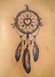 Heart Dream Catcher Tattoo catcher tattooo dream catcher tattoos dream catcher name tattoo 2