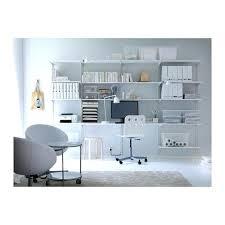 ikea office shelving. Ikea Office Shelving Wall Upright Shelves Over Desk