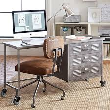 pb teen locker desk galvanized pottery barn study and save