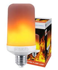 Flame Effect Light Bulb Uk Led Flicker Effect Fire Flame Light Bulb E27 Simulated 3