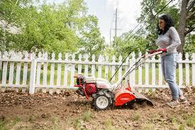 popular spring equipment al rear tine garden tiller