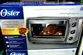 6 slice convection toaster oven with integrated broil rack brushed stainless steel oster countertop model tssttvcg04
