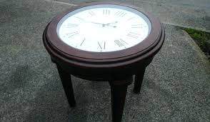 clock coffee table knockout best collection of clock coffee tables round shaped table inspirational ideas shape