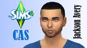 The Sims 4 CAS: Jackson Avery (Grey's Anatomy) - YouTube