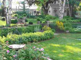 perennial shade garden design in shade garden ideas
