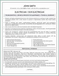 Sample Journeyman Electrician Resumes Journeyman Electrician Resume Beautiful Free Sample Electrician