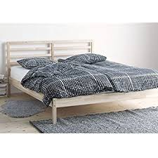 unfinished bedroom furniture malm bed dimensions. Ikea Tarva Full Size Bed Frame Solid Pine Wood Brown Unfinished Bedroom Furniture Malm Dimensions E