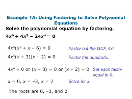 solving polynomial equations worksheet for solving polynomials factoring example using solve polynomial equations likeness elegant awesome