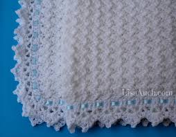 Easy Crochet Baby Blanket Patterns Fascinating Free Crochet Patterns And Designs By LisaAuch FREE Crochet Pattern