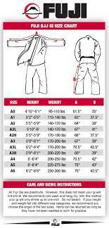 67 Studious Bjj Belt Sizes Chart