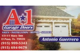 garage doors el pasoBBB Business Profile  A1 Garage Doors