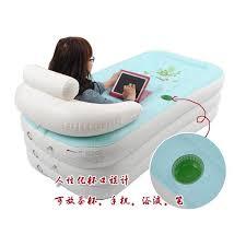 inflatable spa bathtub portable air bath tub home swimming pool kolam mandi spa dewasa
