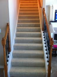 carpet on stairs. collierville stair carpet installation on stairs c