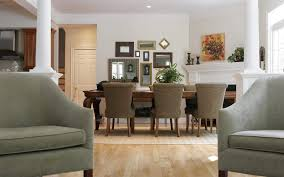 Interior Home Design Living Room Dining Room Cool Dining Room Wall Daccor With Mirror Nice Framed
