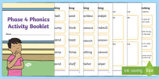 These free worksheets help your kids learn to define sounds from letters to make words. Phase 4 Activity Sheets Twinkl Resources