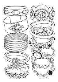 Disegno Di Braccialetti Da Colorare Disegni Da Colorare E Stampare