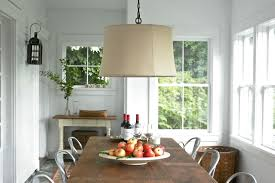 Kitchen Drum Light Pendant Lighting With Drum Shade Fireplace Stone Veneer Kitchen