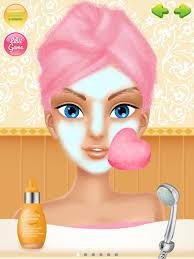 wedding salon s makeup dressup and makeover games screenshot