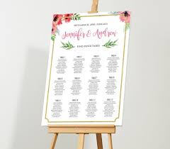Wedding Seating Chart Staples Wedding Seating Chart Editable Seating Plan Instant