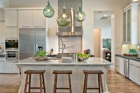green glass pendant lighting. Austin Rustic Interior Design Classic Kitchen Transitional With White Walls Contemporary Faucets Green Glass Pendant Lighting L