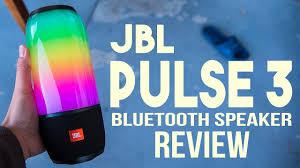 Jbl Pulse 3 Bluetooth Speaker Review Led Light Show