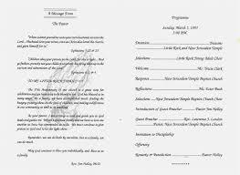 Wedding Ceremony Templates Free Church Program Template Sample Free Ideas Printable