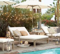 indio double outdoor chaise lounge