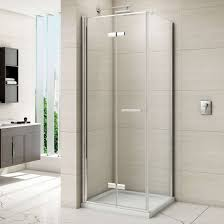 seamless glass shower doors unique bi fold shower door