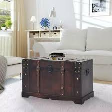 antique vintage style wooden storage