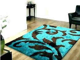 brown turquoise rug area teal medium size of grey and black white chocola