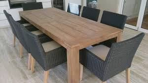 small teak dining table home design